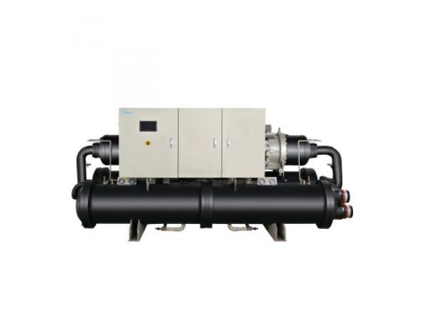 美的满液式水地源热泵螺杆机R134a